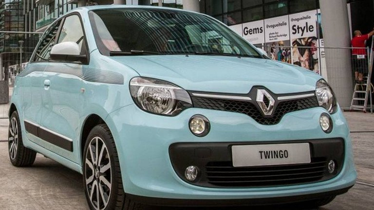 Renault Twingo a Seregno